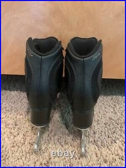 EDEA Ice Fly Ice Skating Boots, black, size 235C, with Paramount blades