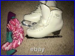 Edea Concerto 260 C Ice Skating Figure Skating Boots and Blades Coronation Ace