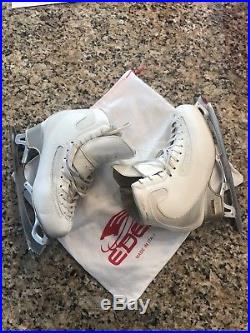 Edea Ice Fly 250 Figure skates, Gold Seal Revolution Blade, gently used