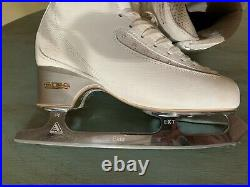 Edea Ice Fly 255C with Jackson Ultima Elite Blades (gently used for coaching)