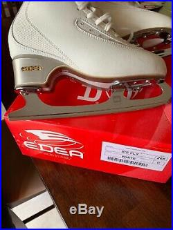 Edea Ice Fly 260 Figure Skates With MK Dance Blades 9.75 Excellent Condition