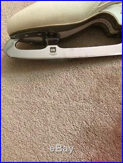Edea Ice Fly Figure Skate Boots 265 C with MK Professional 10 inch Blades