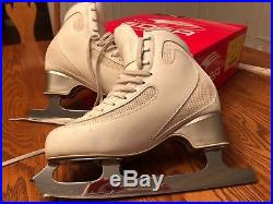 Edea Ice Fly Figure Skates with Pattern 99 Blades