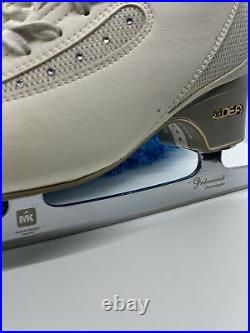 Edea Ice Fly Size 265 Figure Skates B Width, Comes With MK Blades
