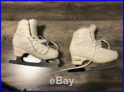 Edea Piano Figure Skates 240 with New Gold Seal Blades Lightly Used