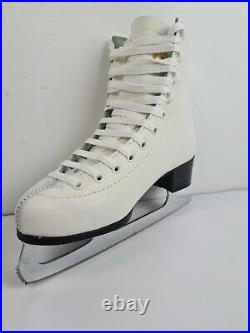 Figure Ice Skate AROSA Steel Alloy Sabina Blades Leather Seconds New Free Post