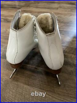 Figure Skates Size 6, S. P. Teri In Great Condition, Wilson Coronation Ace Blade
