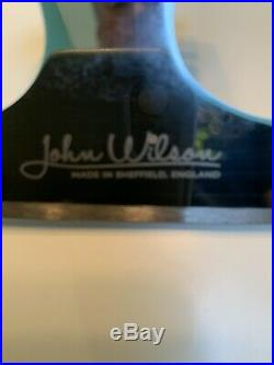Figure skating blades John Wilson Coronation Ace 9 3/4 Inch BARELY USED with box