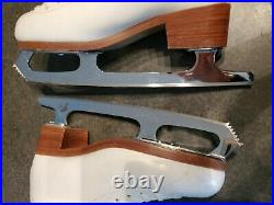 GAM 0095 Ladies Figure Skates Size 7.5 B with STEP Blade, Excellent Condition