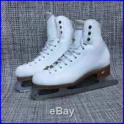 Girls/ Womens (Size 3 1/2 A) Reidell LS 91 Figure/ Ice Skates with ASTR092 Blades