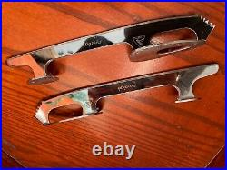 Great condition. Ultima Protègè figure skating blades 9, used for 2 weeks