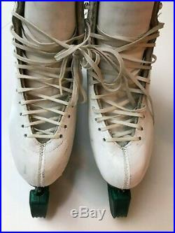 Harlick Competitor Women's Figure Skates with Coronation Comet Blades- 7 AA