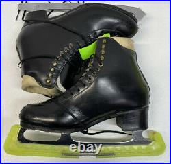 Harlick Figure Skates Sz 12 With Gold Seal Blades