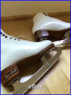 Harlick Figure Skating Boots and Professional Blades 2.5C 8.25 in