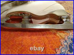 Idea Ice Fly Figure Skates Size 240 (US 7) with Gold Seal John Wilson Blades