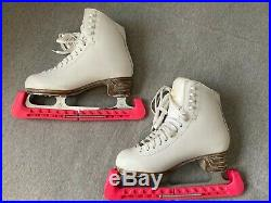 Jackson Classique Figure Ice Skates Womens Size 6.5 with Blade Covers -Never Used