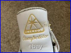 Jackson Competitor Boots 6.5D used, with near-new Coronation Ace blades 9.75