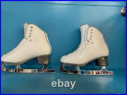 Jackson Debut Low cut size 4.5W Boots with Aspire blades (gently used)