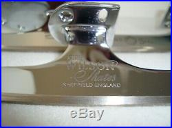 John Wilson GOLD SEAL Ice Figure Skating Blades 8 NEW Never Mounted ENGLAND