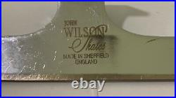 John Wilson Gold Seal Figure Skating Blades 9.75 inches Great Condition