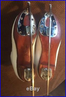 Ladies Figure Skates 6D Quality Boot & Blade Harlick High Tester 4 Aces Wilson