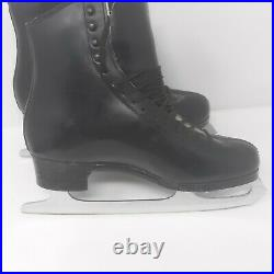 Mens Ice Skates SP Teri Boots size 8 1/2A withCoronation Ace 10 1/2 Blades, Cover