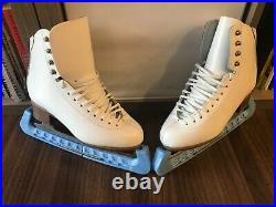 NEW Jackson JS2270 Woman Ice Skates Figure Size US 4.5 With blade guards
