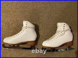 Premier Jackson Figure Skating Boot Size 8 A With 10inch Coronation Ace Blade
