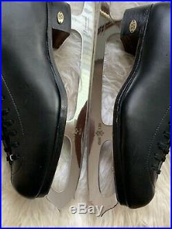 RIEDELL LS MEN'S FIGURE ICE SKATES SIZE 11 With MK BLADES