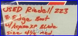 Riedell 223 Figure Skates Size 4 1/2 Med Edge Boot With Aspire XP Blade