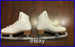 Riedell 223 Stride Figure Ice Skates Size 5 Women's with Capri Blade 9 3/4