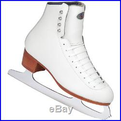 Riedell 229 Ladies Womens Figure Skates With Crescent G1 Blade