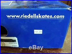 Riedell 255 Motion Figure Ice Skates Sz 7 Med Ladies. Good cond eclipse blade