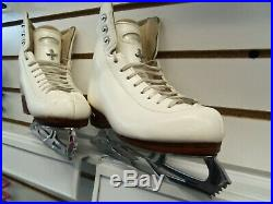 Riedell #43 TS Figure Skate boots with Ultima Lite Blade 2 D/C