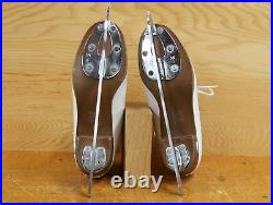 Riedell 435 Ice Skates Size 4 1/2 A/AA Quest Onyx Blades Used