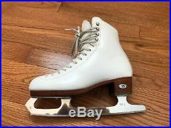 Riedell 435 ts Ice Figure Skates with Eclipse Mist Blades size 5