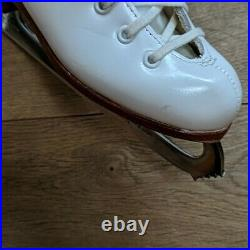 Riedell Figure Ice Skates Girls sz 13N MK Blades Made In England Excellent