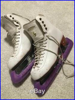 Riedell Figure Skates Size 6.5 with Pattern 99 blades and guards