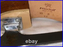 Riedell Figure Skates With John Wilson 8 1/4 Blades