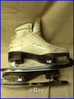 Riedell Figure Skates With John Wilson (Gold Seal Blades)