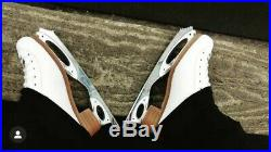 Riedell Figure Skates/Womens Size 5/Coronation Ace Revolution Blades Included