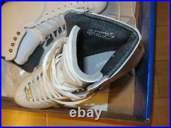 Riedell Model 229 Edge Astra Eclipse Blades Ladies Figure Skates Size 9 Wide