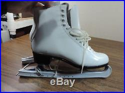 Riedell Size 8 1/2 Women's Ice Figure Skates With MK Sheffield Blades