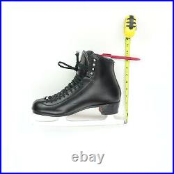 Riedell TS 255 Adult 10.5 W Black Figure Skate Boot Ice Skates 33400 Quest Blade
