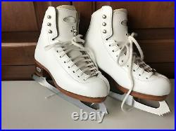 Riedell Youth BRONZE STAR Model 43 Size 1.5 Figure Skate Eclipse Astra Blade EUC