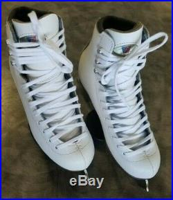 Riedell Youth Model 33 Diamond Figure Skate With Onyx Blade Size 2.5