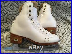 Riedell model 2010 Size 3 C/B Figure Ice Skates with Eclipse Astra Blades