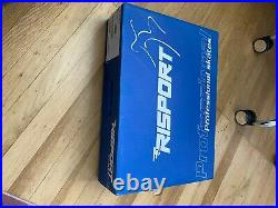 Risport Pro Figure skates size 250 with Pattern 99 blades mounted & guards
