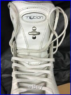 Youth Girls Riedell Figure Skates with John Wilson Pattern 99 Blades 8 3/4